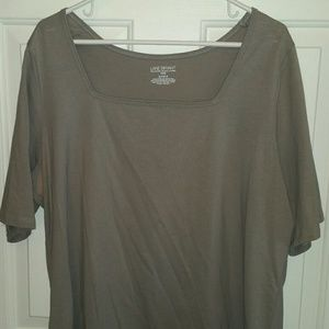 Pull over shirt gray size 18/20 non smoking home